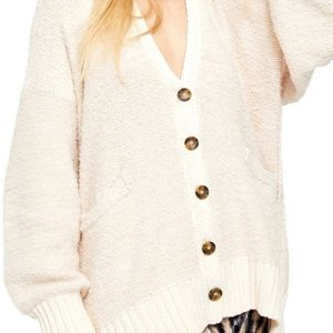 Free People Snow Drop Alpaca Blend Cardi